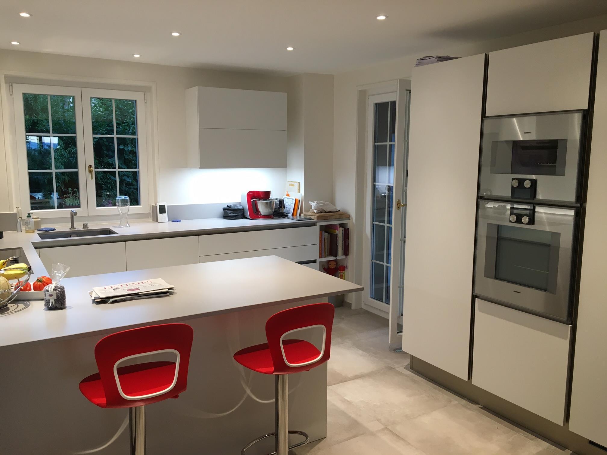 Le projet de martine et thierry veneta cucine l for Projet de cuisine en 3d