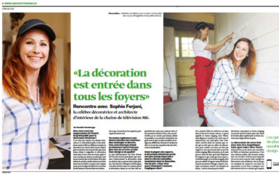 Magazine Habitat et Design avec Norbert Tarayre