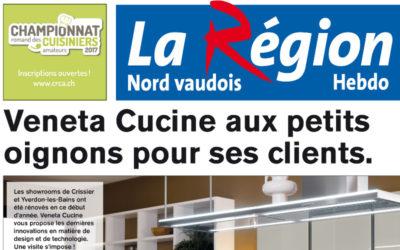 Publicité dans «La Région»